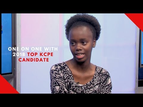 One on one with 2018 top KCPE candidate