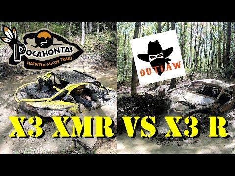 CanAm X3 XMR |X3 R|Sportsman XP1000 DEEP! Pocohontas/Outlaw Trails Hatfield McCoy WV 2019