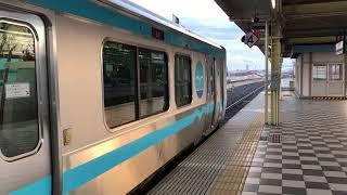 八戸線 キハE130系425D 本八戸駅発車 2018年1月9日