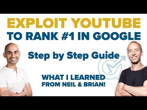 Advanced SEO: Exploit YOUTUBE with BLOG CONTENT to Rank in #1 on Google