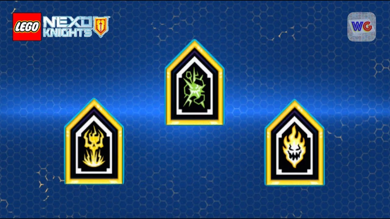 It is a photo of Comprehensive Nexo Knights Images