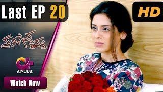 Dukh Kam Na Honge - Last Episode 20 | Aplus Dramas | Saba Faisal, Nadia Afghan | Pakistani Drama