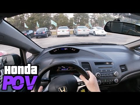 Here's a 2010 Honda Civic Sedan for $4500 | POV Review & Test Drive