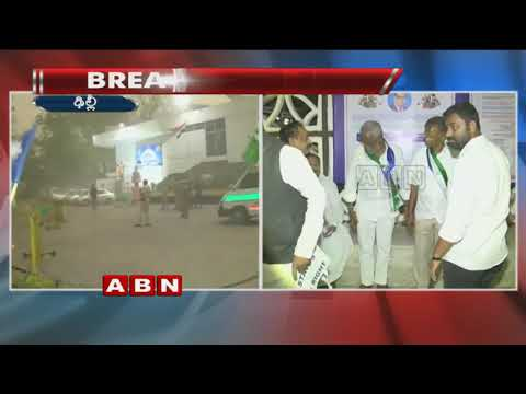 Heavy Wind Lashes Out YSRCP MPs Protest At Delhi | ABN Telugu