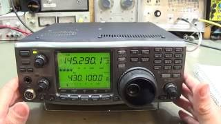 111 icom ic 910h intermittent no receive on main receiver