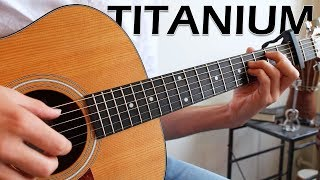 TITANIUM - David Guetta ft. Sia (Fingerstyle Guitar Cover)