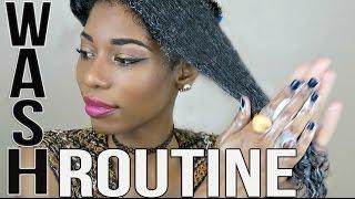 NATURAL HAIR WASH ROUTINE TO STIMULATE HAIR GROWTH