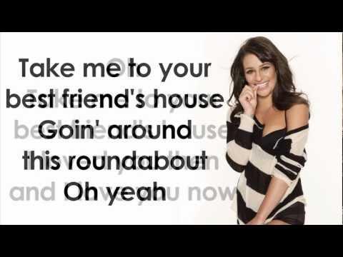 Glee - Tongue Tied (Lyrics)