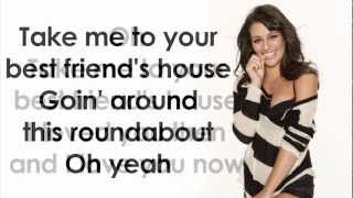 Glee - Tongue Tied (Lyrics)