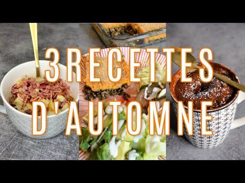 3-recettes-d'automne-dÉlicieuses,-rapides-&-rÉconfortantes-!-ideal-meal-prep