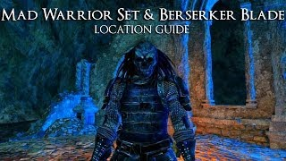 Dark Souls 2 | Mad Warrior Set & Berserker Blade (Location Guide)