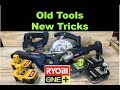 Old Ryobi tools using new Lithium batteries
