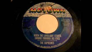 The Supremes - When The Lovelight Starts Shining Through His Eyes 45 rpm!