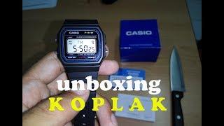 Unboxing Casio F-91W-1DG