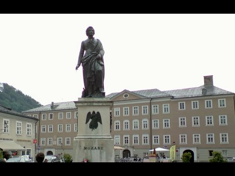 A rainy day in Salzburg  -  Austria