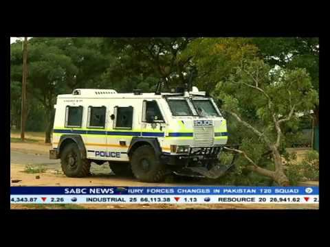 Residents of Modimolle, Limpopo are protesting over water