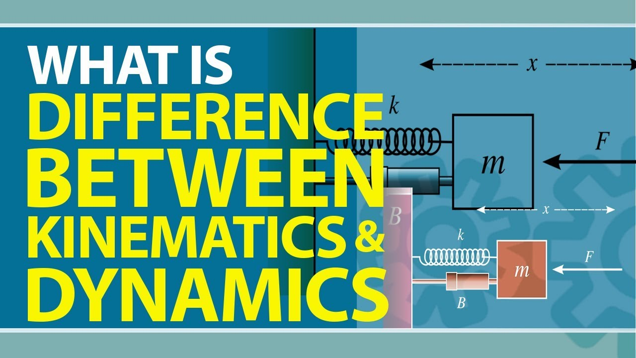 What are the Differences Between Kinematics & Dynamics | Definition |  Meaning & Properties | Physics