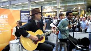 VINTAGE TROUBLE - Blues Hand Me Down - LIVE @ St Pancras Station London - The Station Sessions