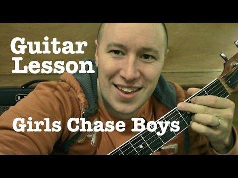 Girls Chase Boys ★ Guitar Lesson ★ EASY TUTORIAL ★ Ingrid Michaelson