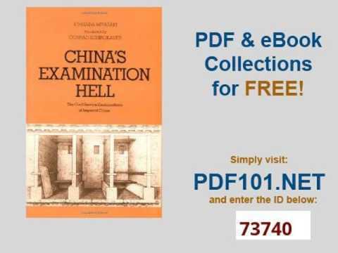 China's Examination Hell The Civil Service Examinations of Imperial China