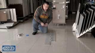 Postavljanje keramičkih pločica i nivelator keramike thumbnail