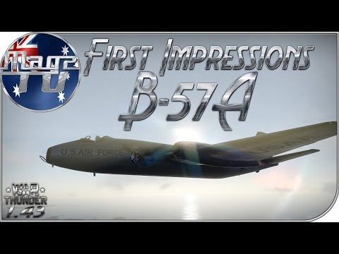 War Thunder - First Impressions: B-57 - Realistic Battle