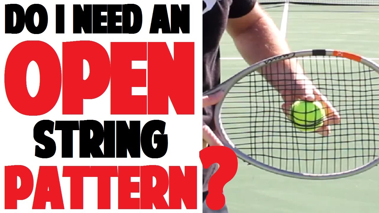 Picking a Tennis Racket | String Pattern (Part 3 of 4)