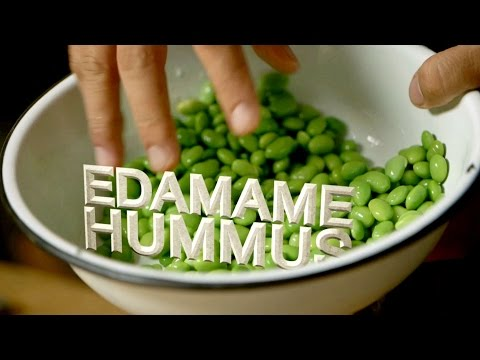 Breville Presents Edamame Hummus