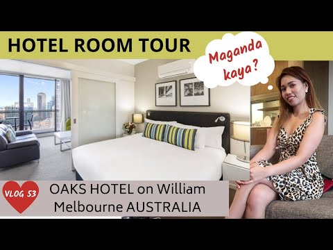 FIRST TIME Sa OAKS HOTEL +ROOM TOUR  ❤MY LIFE IN AUSTRALIA