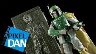 """Hasbro Star Wars SDCC Exclusive Black Series 6"""" Boba Fett Figure Video Review"""