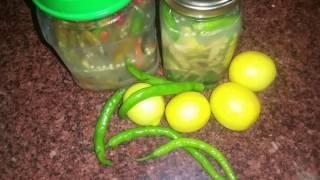 mirchi pickle recipe in hindi