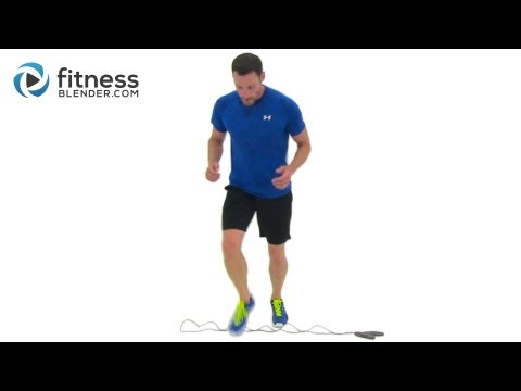 Killer Jumping Rope Workout 20 Minute Home Toning and Cardio Routine