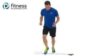 Jumping Rope Workout - 18 Minute Cardio Interval Workout