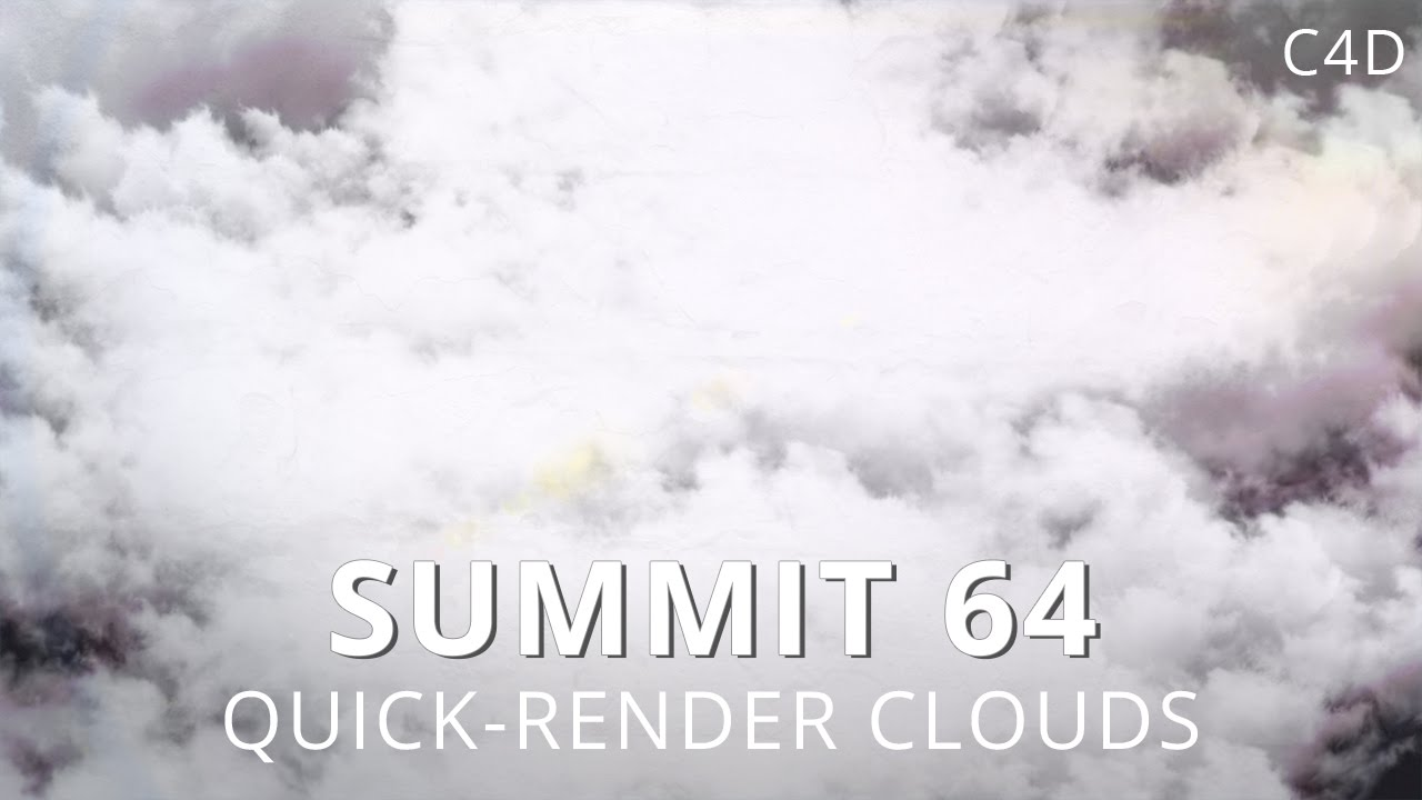 Easily Create Fast Rendering Cloudscape in C4D - Lesterbanks