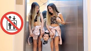 REGRAS DE CONDUTA NO ELEVADOR - Rules of conduct in the elevator قواعد السلوك في المصعد