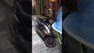 MOTO ROMPE VIDRIERA!!!