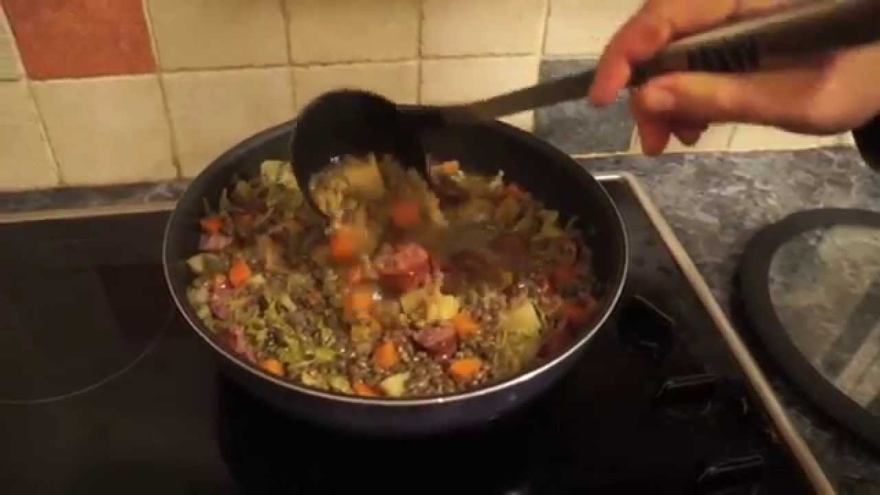 Smoked Sausage And Lentil Soup Recipe Luxembourg Food