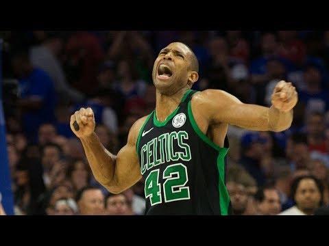 Al Horford Game Winner OT Clutch Steal! Celtics 3-0! 2018 NBA Playoffs