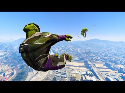GTA 5 Hulk Vs Hulk (End Game) Ragdoll Compilation | (GTA 5 Fails Funny Moments Ragdolls)