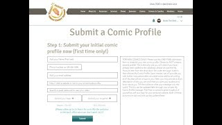 ACT - How to Create a Comic Profile