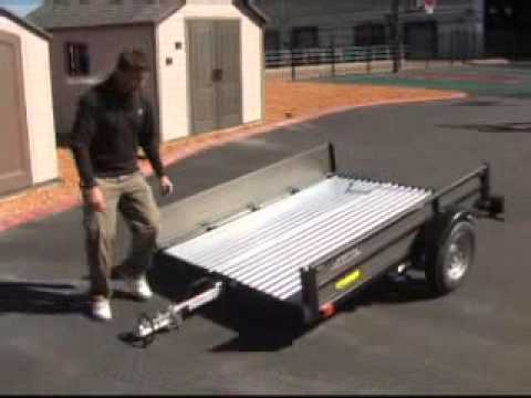 Gadget Guy: Lifetime Folding Trailer