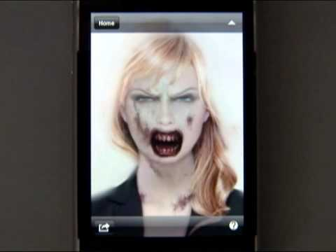 ZombieBooth : iPhone/Android app