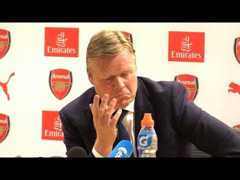 Arsenal 3-1 Everton - Ronald Koeman Full Post Match Press Conference