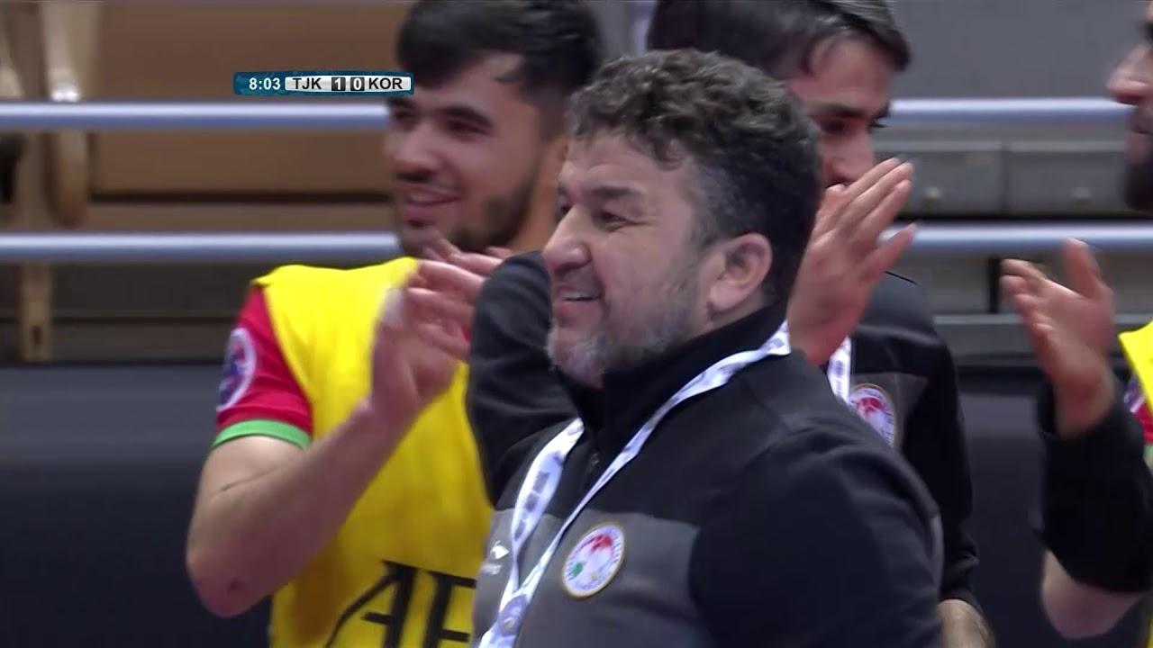 Video: Futsal Tajikistan vs Futsal Hàn Quốc