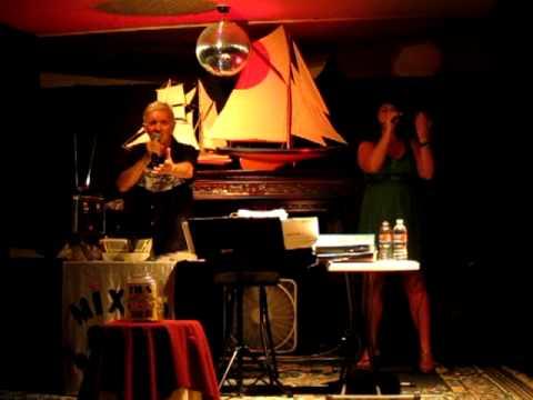 Rachel at the Yacht Club