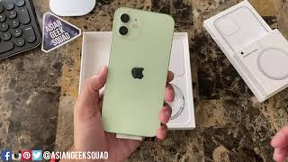 iPhone 12 - Green - Unboxing