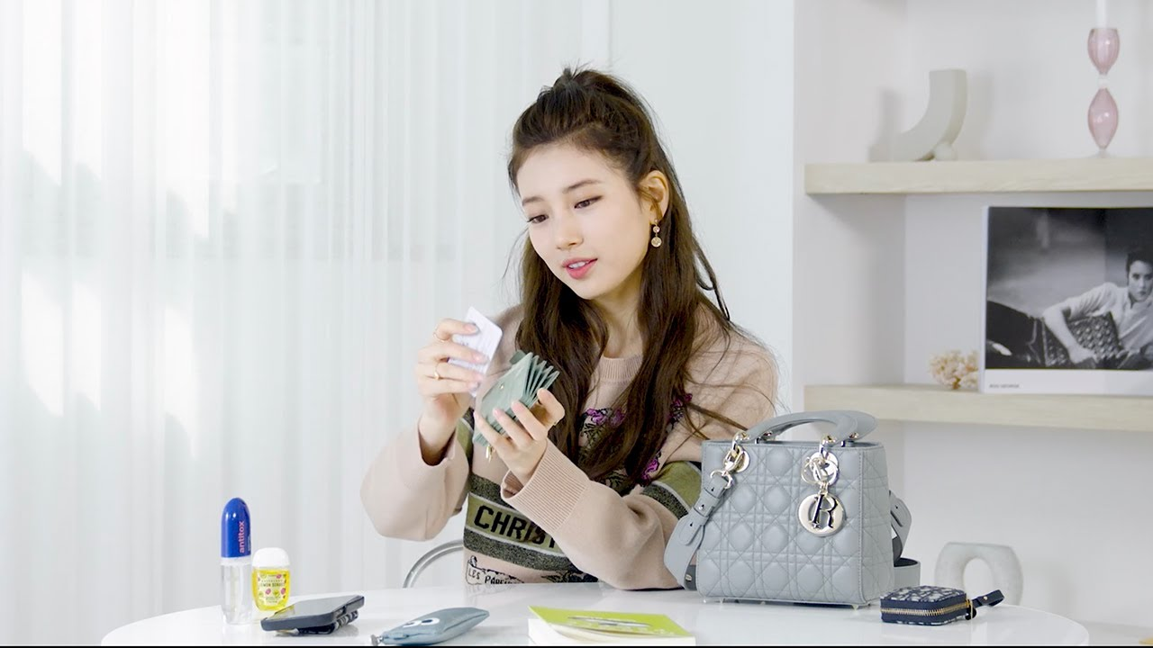 What's In Korean Actress Suzy Bae's Lady Dior Bag?