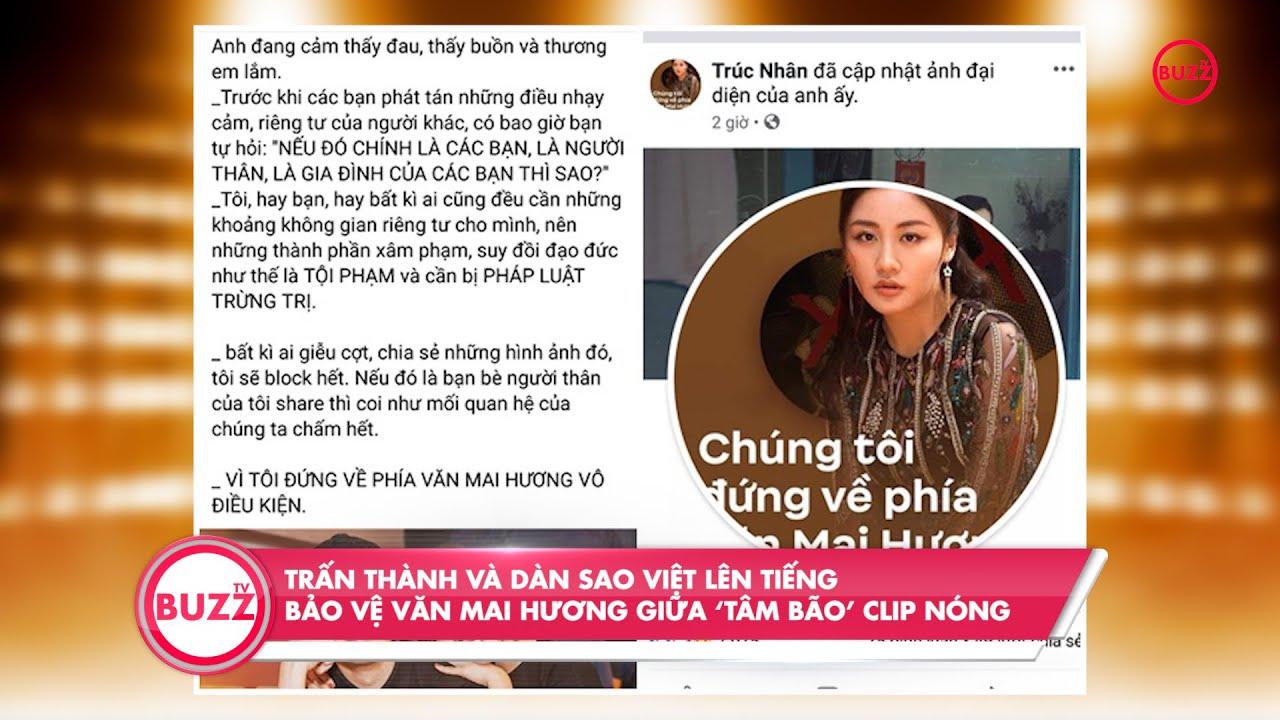 Trấn Thành và dàn sao Việt lên tiếng bảo vệ Văn Mai Hương giữa 'tâm bão' clip nóng