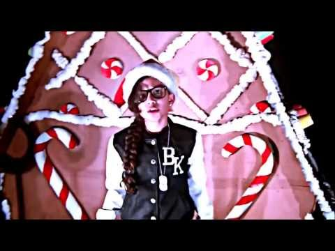 8 YEAR OLD AMAZING RAPPER BABY KAELY ( ALL I WANT FOR CHRISTMAS)