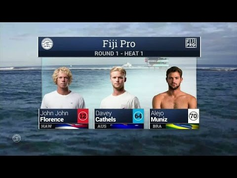 2016 Fiji Pro: Round One, Heat 1 Video